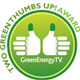 Two Green Thumbs Up Award